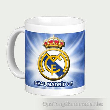 Cốc in logo đội tuyển Real