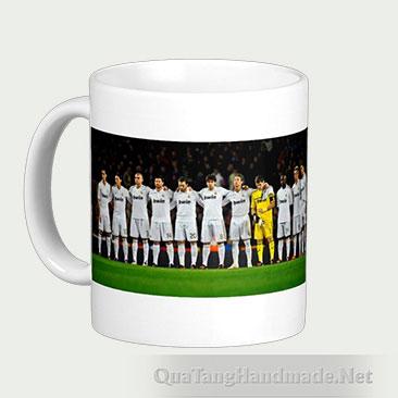Cốc in hình đội tuyển Real