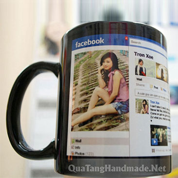 in cốc facebook timeline