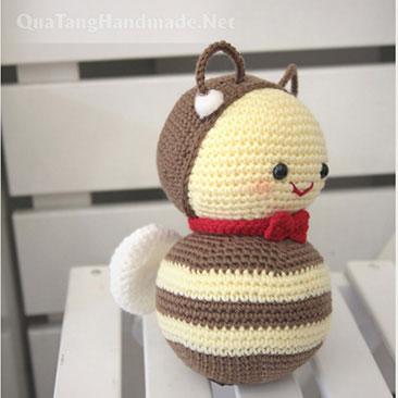 Thú bông len amigurumi Handmade