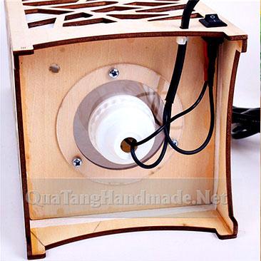công tắc đèn ngủ ngàn sao bằng gỗ