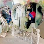 In ảnh lên pha lê chữ Love