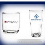 in logo trên cốc thủy tinh