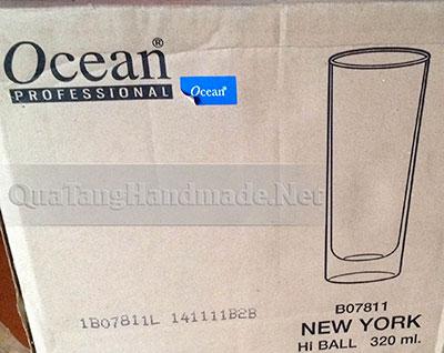 in logo Cốc thủy tinh ocean thái lan