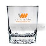 in logo cốc thủy tinh cho doanh nghiệp